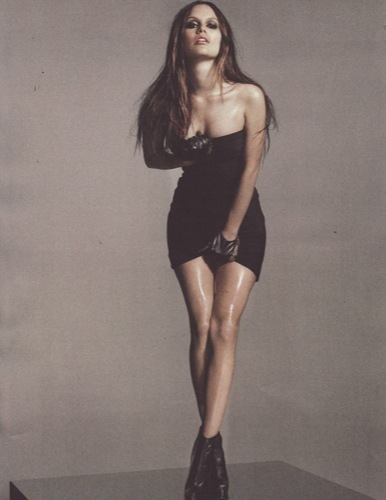 El erotismo por Rachel Bilson, little black dress
