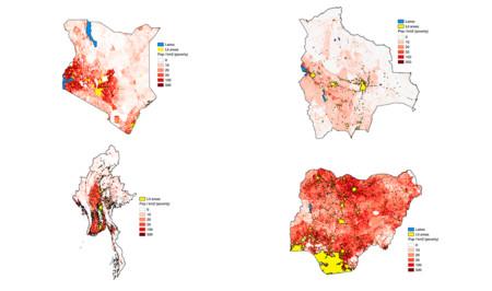 Mapas: la mejor arma para combatir la pobreza en los países menos desarrollados