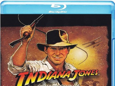 Tetralogía Indiana Jones, en formato Blu-ray, por 15,69 euros