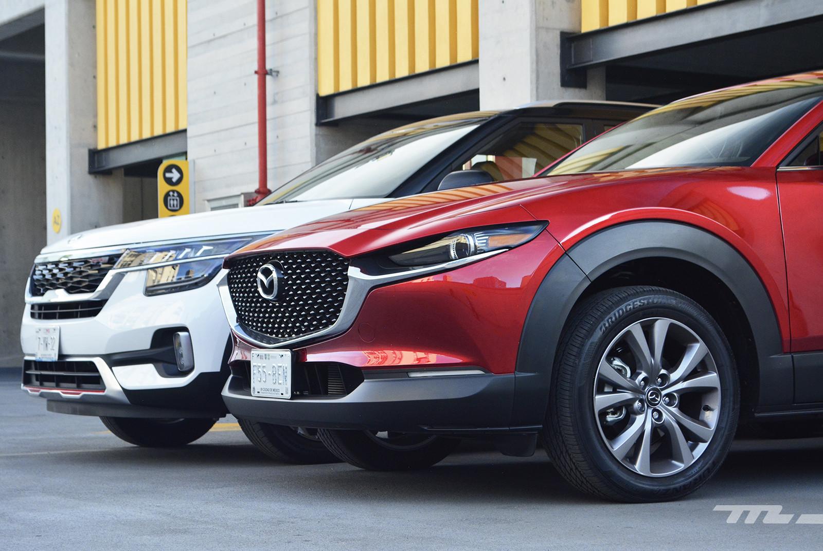 Foto de KIA Seltos vs. Mazda CX-30 (comparativa) (7/32)