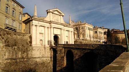 Puerta Murallas Bérgamo
