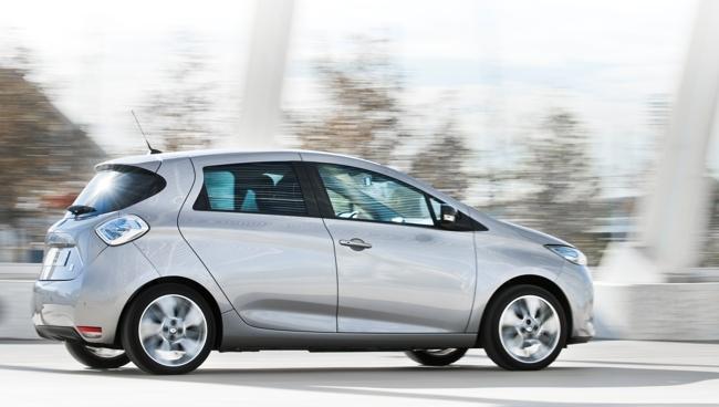 Renault ZOE gris exterior 30