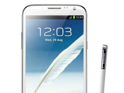 Samsung Galaxy Note II comienza a recibir Android 4.1.2 (Jelly Bean)