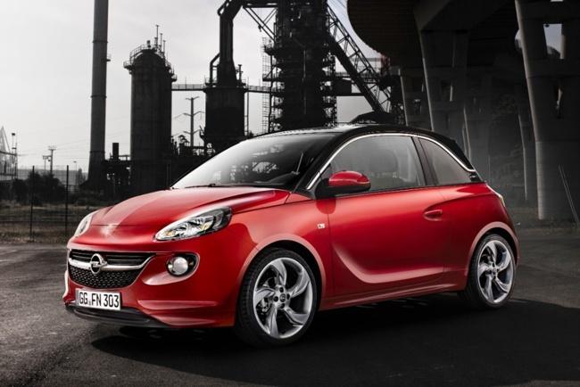 Opel Adam rojo 01