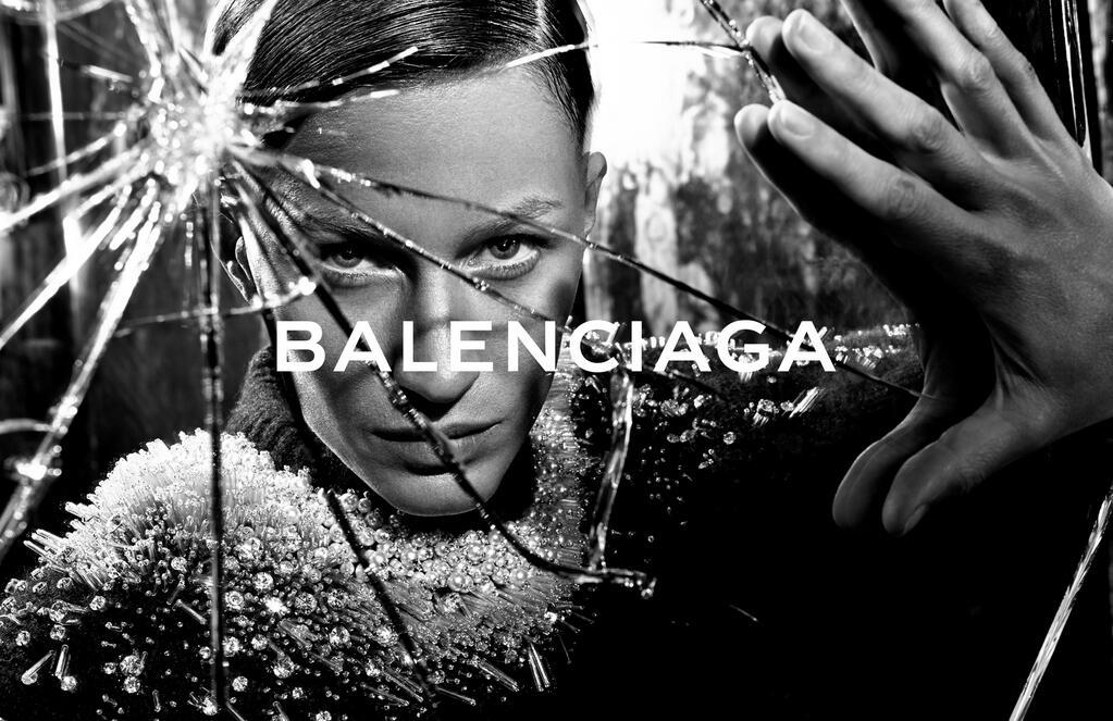 Gisele Bündchen para Balenciaga campaña Otoño-Invierno 2014/2015