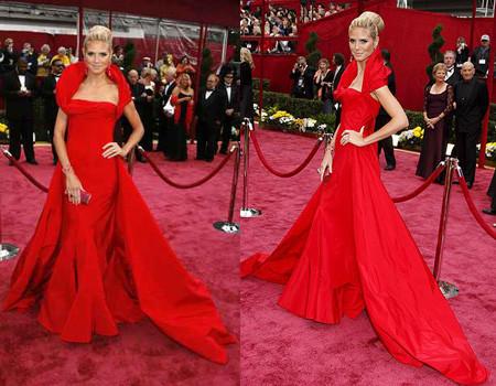 La alfombra roja en Los Oscar 2008