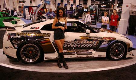 Bulletproof Nissan GT-RR, un buen escaparate para unos neumáticos