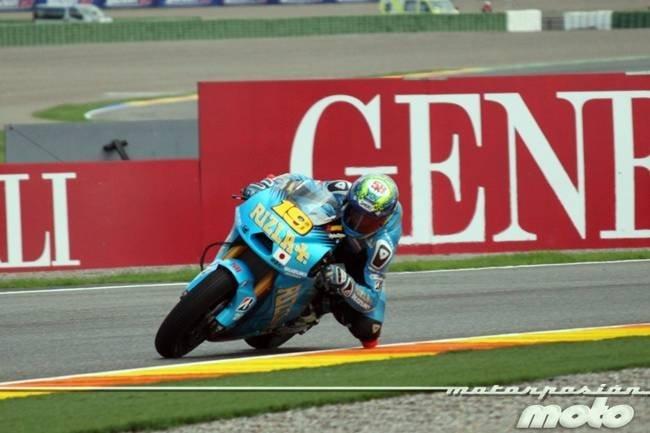 MotoGP Valencia 2011: lágrimas desde el cielo en los libres del viernes