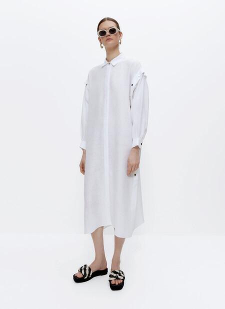 Un vestido de Uterqüe y cinco maneras diferentes de utilizarlo para sacarle todo el partido posible