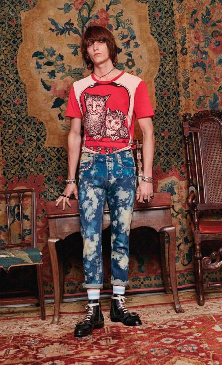 Alessandro Michele se inspira en el punk y los dandies de Carnaby Street para la colección Crucero de Gucci