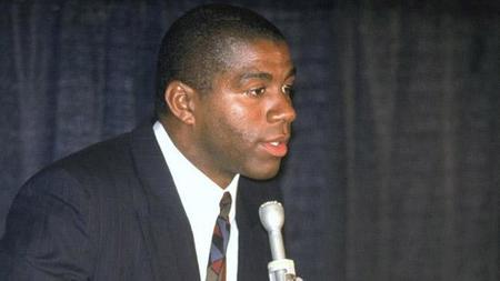 'Magic Johnson da la cara', el anuncio que cambió la NBA
