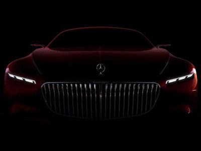 Vision Mercedes-Maybach 6: así se llama el super coupé de Maybach
