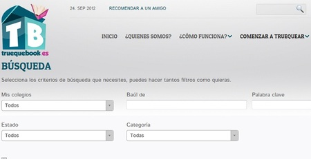 Truequebook.es, la web para compartir en comunidad el material escolar