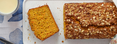 Bizcocho de naranja, avena y zanahoria con azafrán: receta para alegrar las mañanas (y las tardes de merienda)