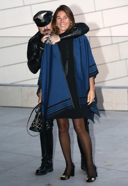 Peter Marino y Alessandra Borghese