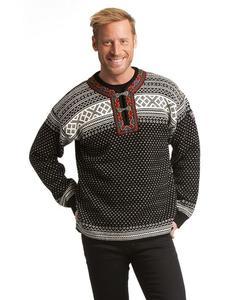 Un toque folk con el suéter más clásico de Noruega
