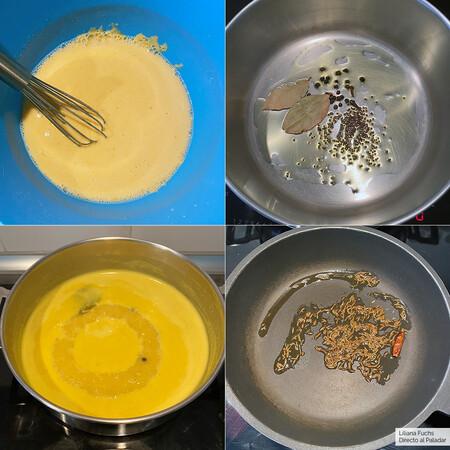 Sopa de Yogur. Pasos
