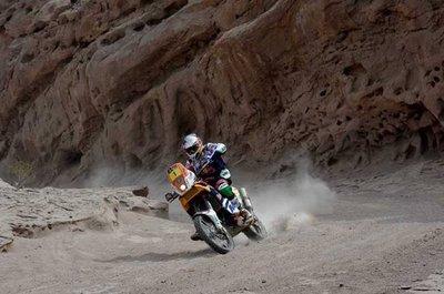 Dakar 2012: San Juan - Chilecito, etapa 4