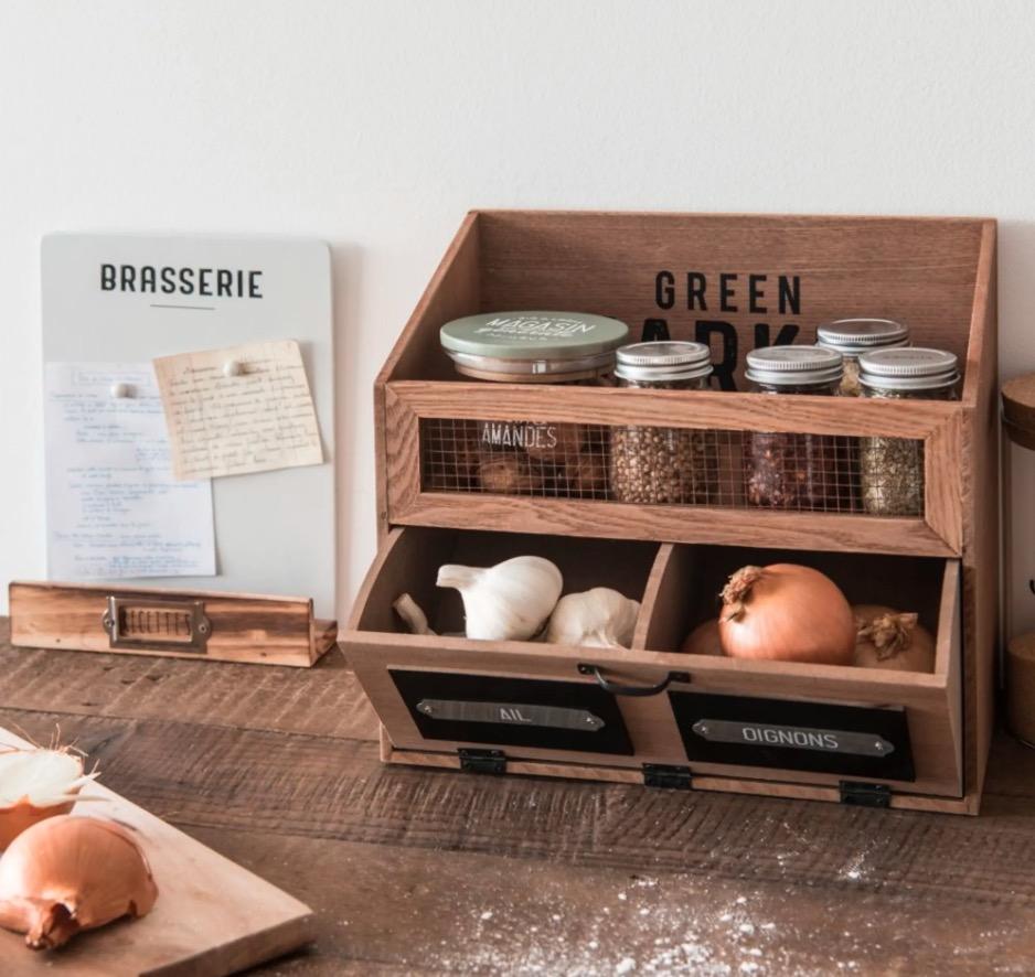 Soporte para recetas con estampado Brasserie