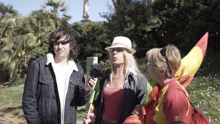 Luc Loren sale a la calle para visibilizar el programa electoral de VOX y hacer reflexionar al votante