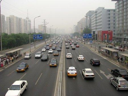 Las matriculaciones se desploman en Pekín
