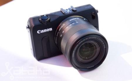 Canon EOS M, toma de contacto