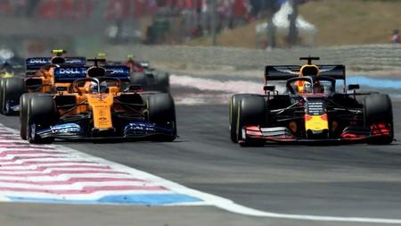 Verstappen Sainz Francia F1 2019