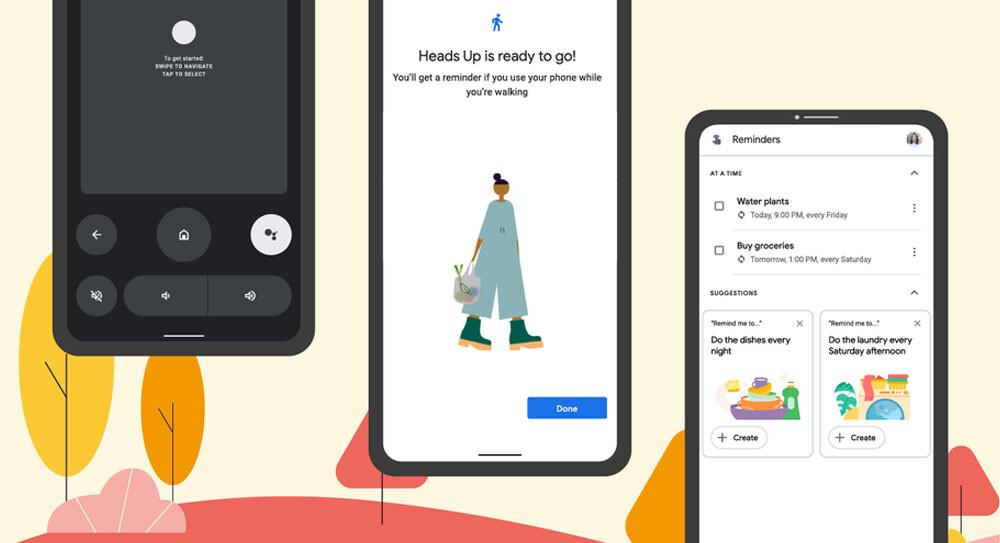 Las novedades que llegan a tu móvil Android este otoño: más accesibilidad, mando a distancia y más