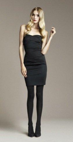 Zara Otoño 2010 strapless