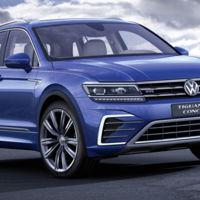 Volkswagen Tiguan GTE Concept: un híbrido enchufable que también utiliza energía solar