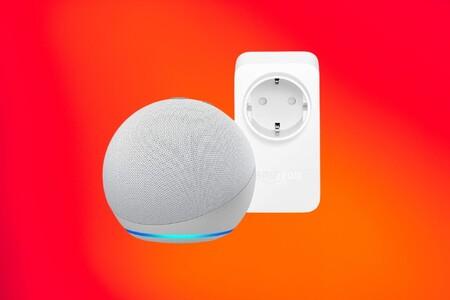 El nuevo Echo Dot con el enchufe Amazon Smart Plug a menos de 40 euros, precio mínimo histórico en las ofertas de primavera