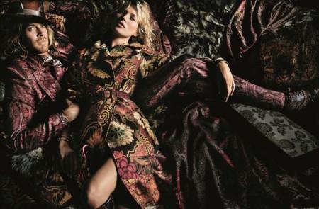 Kate Moss Etro Campana Otono Invierno 2015 2016 3