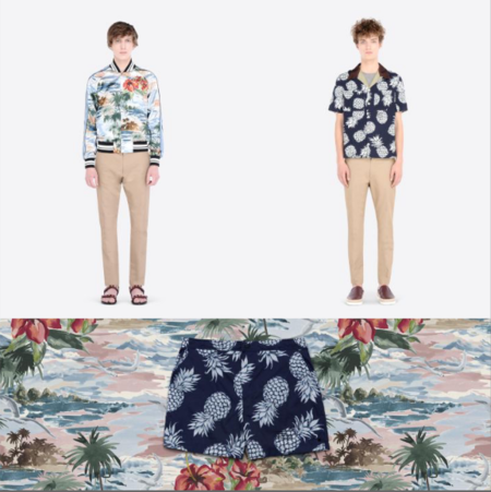Valentino presenta su colección Hawaiian Couture