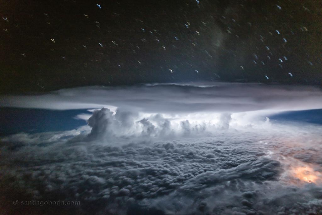 Santiago Borja Fotos Tormentas Desde Avion 7