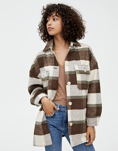Chaqueta Cuadros Pull And Bear 02