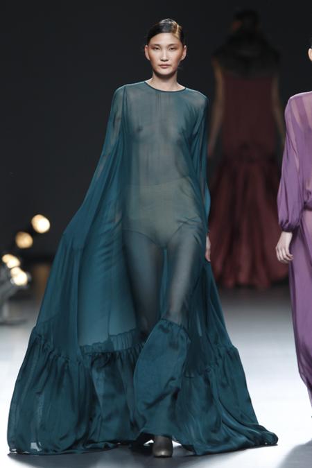 Duyos transparencia vestido
