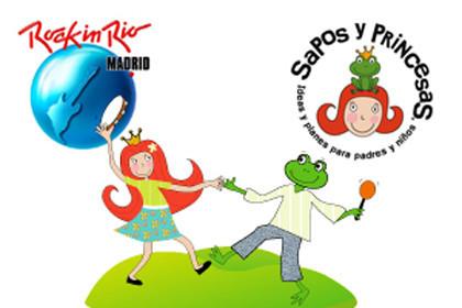 A Rock in Río Madrid con los niños