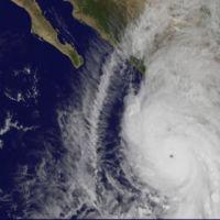 ¿Cómo se ve el huracán Patricia desde el espacio?