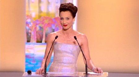 Festival de Cannes 2010: Kristin Scott Thomas presenta las películas a concurso en la gala de inauguración