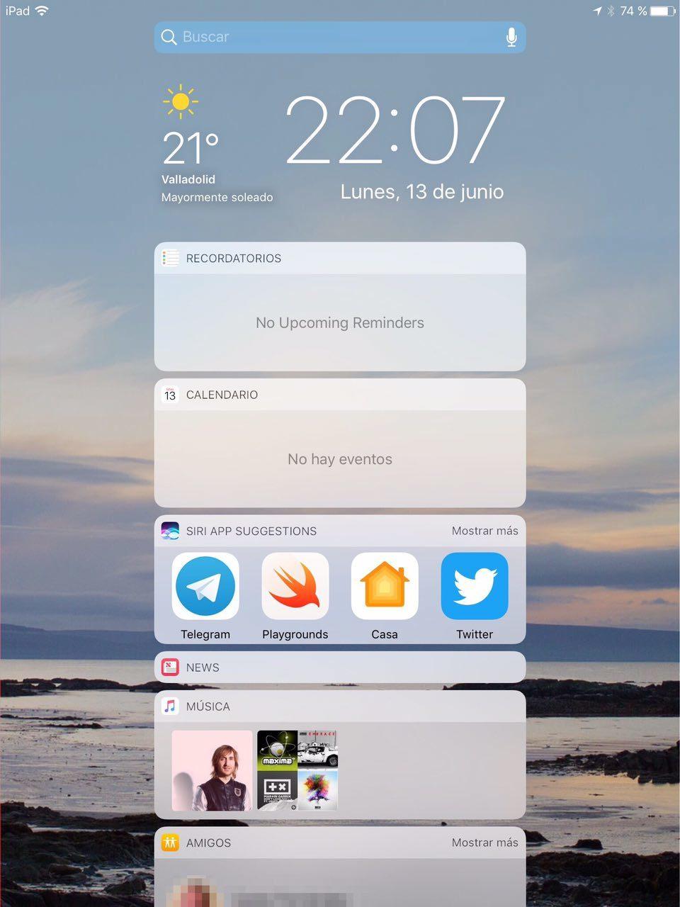 Foto de iOS 10 en iPad (11/26)