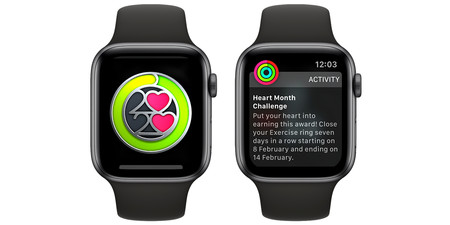 Apple Watch Reto Mes Del Corazon