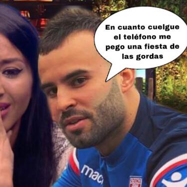 Jesé Rodriguez entra por teléfono en 'La Casa Fuerte' y se declara públicamente a Aurah Ruiz