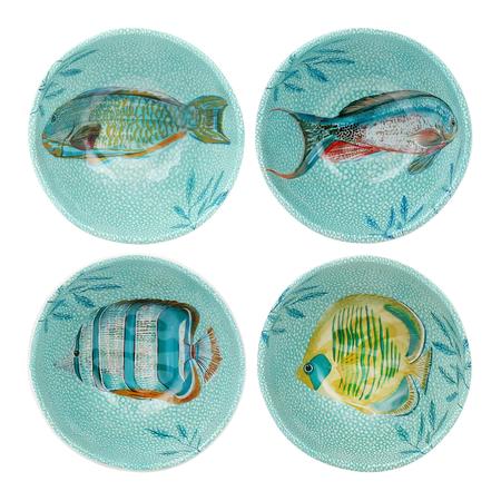 Platos con peces