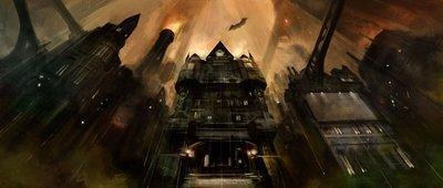 'Batman: Arkham City': nuevo y oscuro concept art