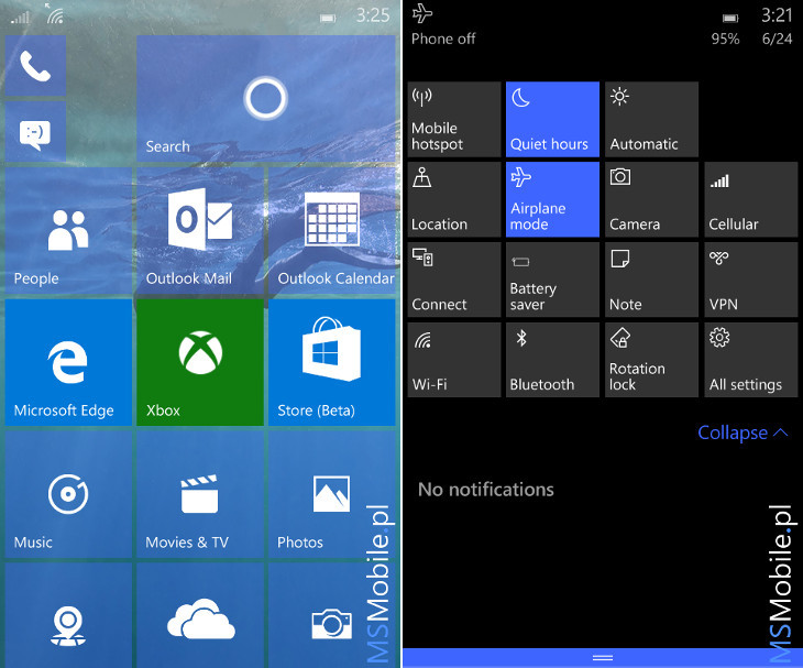 Foto de Windows 10 Mobile Build 10149 (1/8)