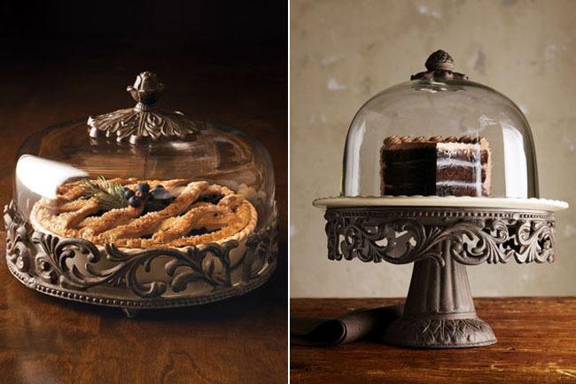 Preciosos platos para postres de estilo clásico que enamoran