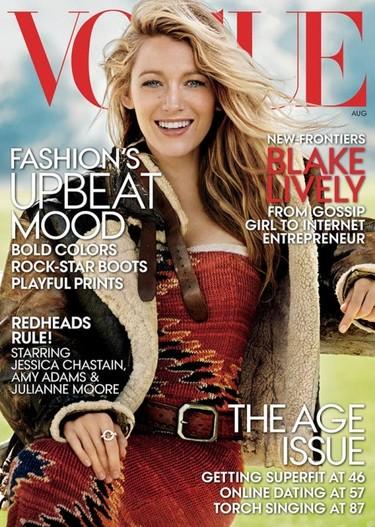 Blake Lively, de lo más campera para Vogue