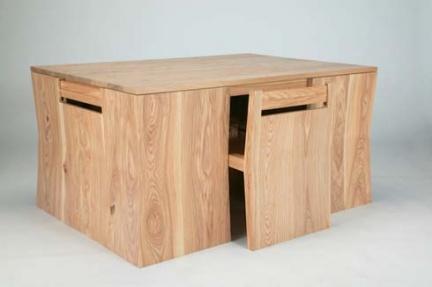 Chubby brothers otra mesa compacta - Mesas de madera de diseno ...