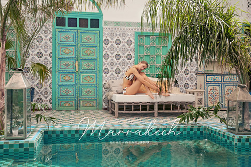 Sfera lanza una (nueva) colección de baño donde los estampados son los únicos protagonistas