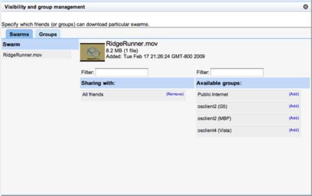 OneSwarm, intercambio de ficheros con privacidad